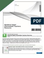 Speakout Upper Intermediate Teachers Resource