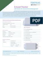 Industrial GPS Asset Tracker