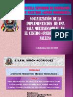 1,2ºsocializacion Del Proyecto 2019