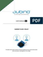 Manual de usuario Qubino Flush Relay