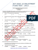 Nigerian Navy DSSC Past Questions and Answers PDF Download - Interview Test