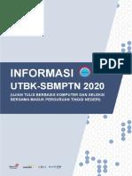 Informasi Utbk-sbmptn 2020 v2