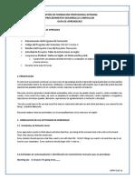 Guia de Aprendizaje Pre Intermedio 1