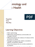 Epidemiology and Public Health (Microbio)