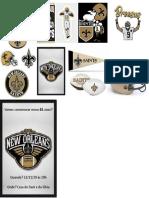 NFL Logos Saints