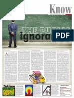 The Public Ignoramus