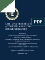 2016–2019 Progress Report