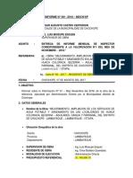 Informe de Supervision AGUA