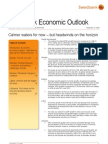 Swedbank Economic Outlook - 2010, September 21