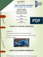 Unidad 6 (Turbinas Hidraulicas)