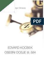 Igor Omerza - Edvard Kocbek Osebni dosje št. 584