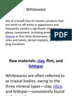 Ceramic Whitewares (Lecture 2).pptx