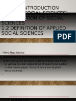 Course Introduction (Applied Social Sciences).odp