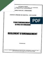 Réglement PA Ouazzane