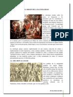 El Origen de La Racionalidad, Mitologia Griega