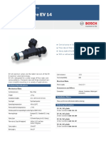 Bosch Injection Valve EV 14 Datasheet