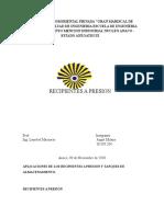 Aplicaciones de Los Recipientes a Presion y Tanques de Almacenamiento (Autoguardado)