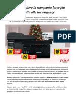 Stampante Laser Promo Prink Pantum, Guida All'Acquisto e Supporto Tecnico