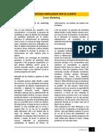 Lectura - La Estrategia Impulsada Por El Cliente_MARKET