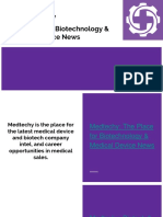 Medtechy_The Place for Biotechnology & Medical Device News