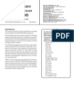 YAESU FT 2000 Service Manual