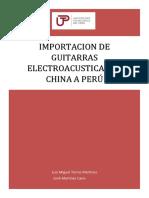 exportacion guitarra
