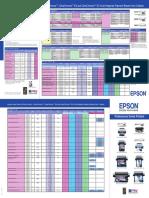 Epson Large Format Printer Series Ultrachrome, Ultrachrome k3 Ink Media Guide