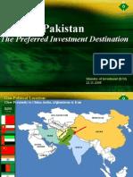 Pakistan Preferred Investment Destination