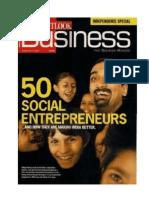 50 Social Entrepreneur