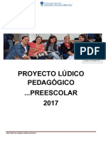 Proyecto Lúdico Pedagfógico Preescolar 2017