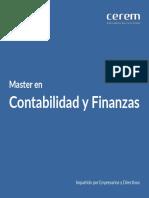 Master Contabilidad y Finanzas