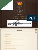 Manual de Partes Fusil Barret