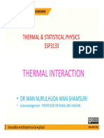 Thermal Interaction