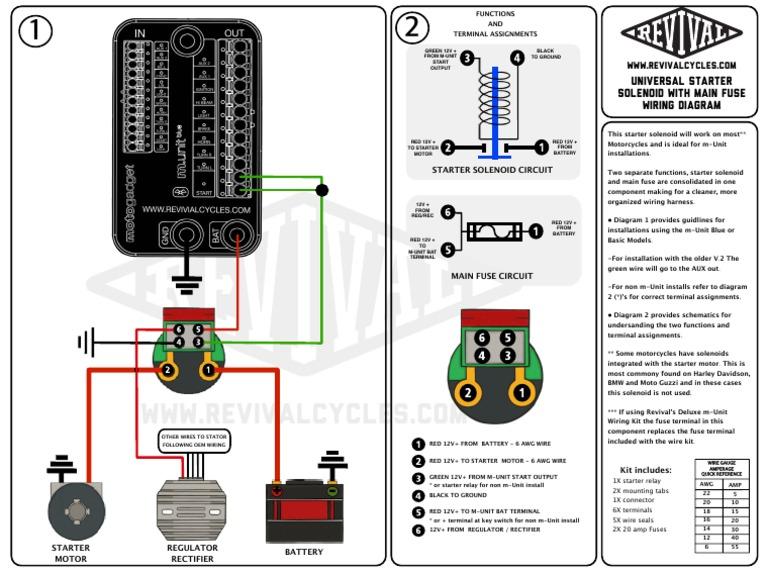 Starter Solenoid Wiring Diagram Fuse Electrical Machines