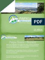 Presentacion Boyaca - Paipa Tours 2013