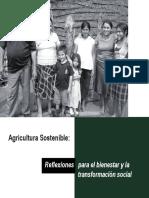 Agricultura Sostenible Reflexiones Para El Bienestar Social