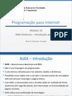 Programaçao Web com Ajax