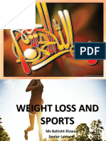 Weight Loss in Athletes