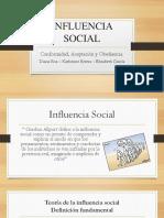 Influencia Social - Psico Social