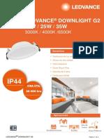 Ledvance Downlight 14w,25w y 35w g2 Latam (9)