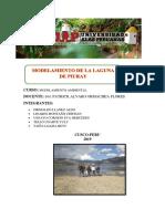 Modelamiento de La Laguna de Piuray