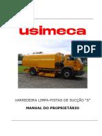 Manual Do Proprietário - LIMPA-PISTAS