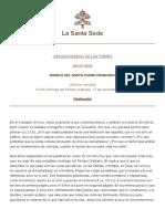 Papa Francesco 20191117 Omelia Giornatamondiale Poveri