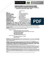 Actas de Observaciones de Recepcion de Obra La Union Leticia Saneamiento Chiclayo