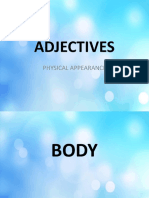 Adjectives Physical Appearance