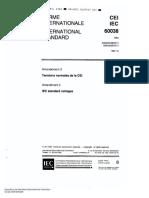 IEC 60038-1997