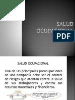 Diapositivas de Salud Ocupacional Ok