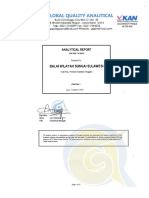 Hasil Pengujian Kualitas Lingkungan di Lokasi Rencana Pembangunan Coastal Protection Kota Palu
