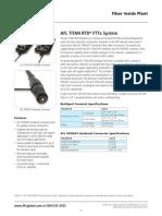 Titan RTD FTTx System Product Profile
