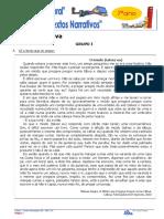 7ºFormativa 04 Texto Narrativo e Diario